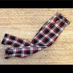 H&M Plaid trousers